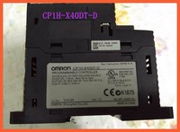 Used Original CP1H X40DT D CP1H PLC Controller CPU for Omron Sysmac 40 I/O Transistor 24V Encoder Pulse Counter
