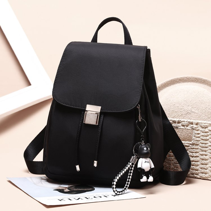 a6831ac37569 Bags for women 2018 Oxford cloth female new Korean version of the tide  fashion wild casual bag travel canvas small backpack Hi-in Backpacks from  Luggage ...