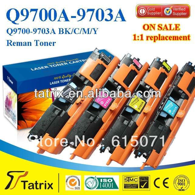 ФОТО FREE DHL MAIL SHIPPING. Q9701A Toner Cartridge Triple Test Q9701A Toner Cartridge for HP toner Printer