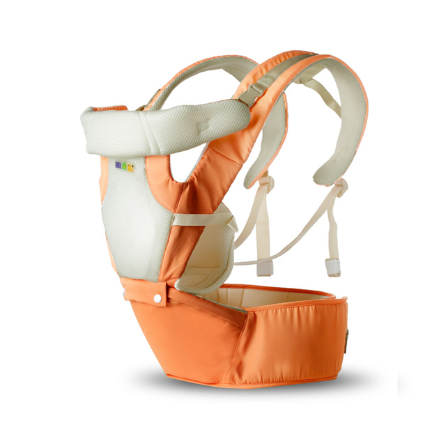 Breathable Portable 3 In 1 Mutifuctional Baby Carrier 6 Carry Ways Double Safety Baby Sling Adjustable For 0-36M Baby Cangaroo Backpacks & Carriers