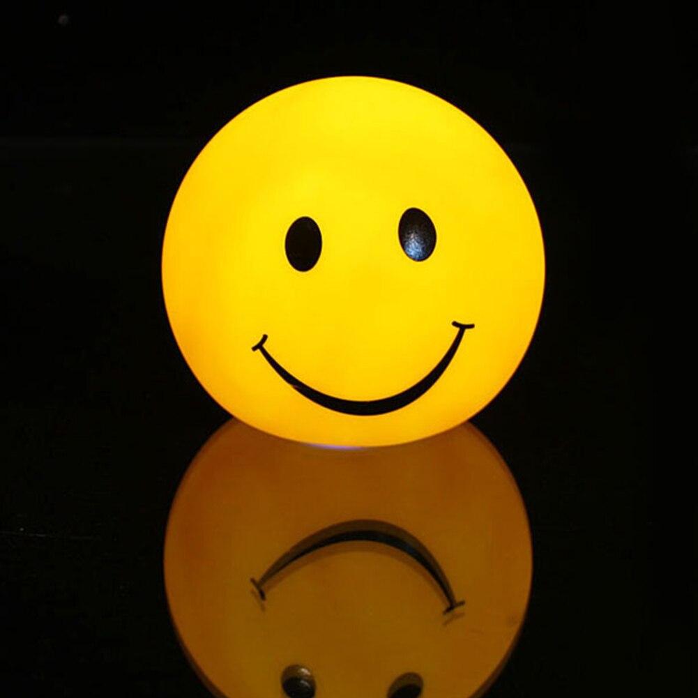Novelty Smiley Emoticon Lamp 3D Version Emoji Nightlight Color Changable Lamp Round Smile Bedroom Lamp Kids Birthday GiftNovelty Smiley Emoticon Lamp 3D Version Emoji Nightlight Color Changable Lamp Round Smile Bedroom Lamp Kids Birthday Gift