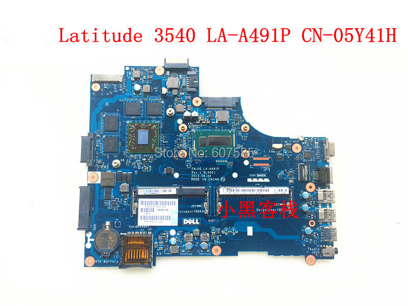 For Dell Latitude 3540 Laptop font b Motherboard b font i3 4010U 1 7Ghz CPU LA
