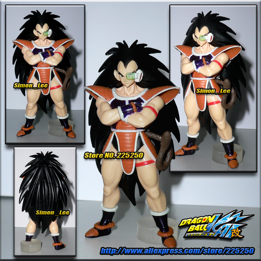 Japanese Anime DRAGONBALL Dragon Ball Z/Kai Genuine Original BANDAI Gashapon PVC Toys Figure HG Special Part 2 Raditz desktop clamping full motion 10 30 inch triple monitor holder 360 degree three led lcd monitor mount arm bracket 10kgs per arm