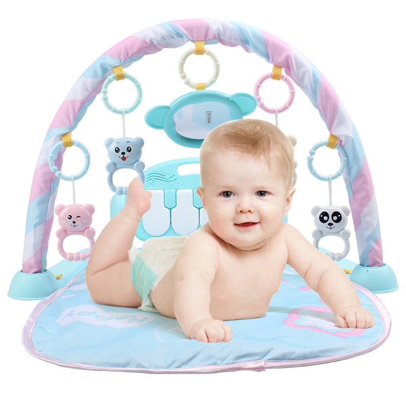 HUAILE ребенка играть мат Фитнес Фортепианной Музыки Ковер Одеяло деятельность тренажерный зал начало Играть лежал сидеть игрушки для новоро...
