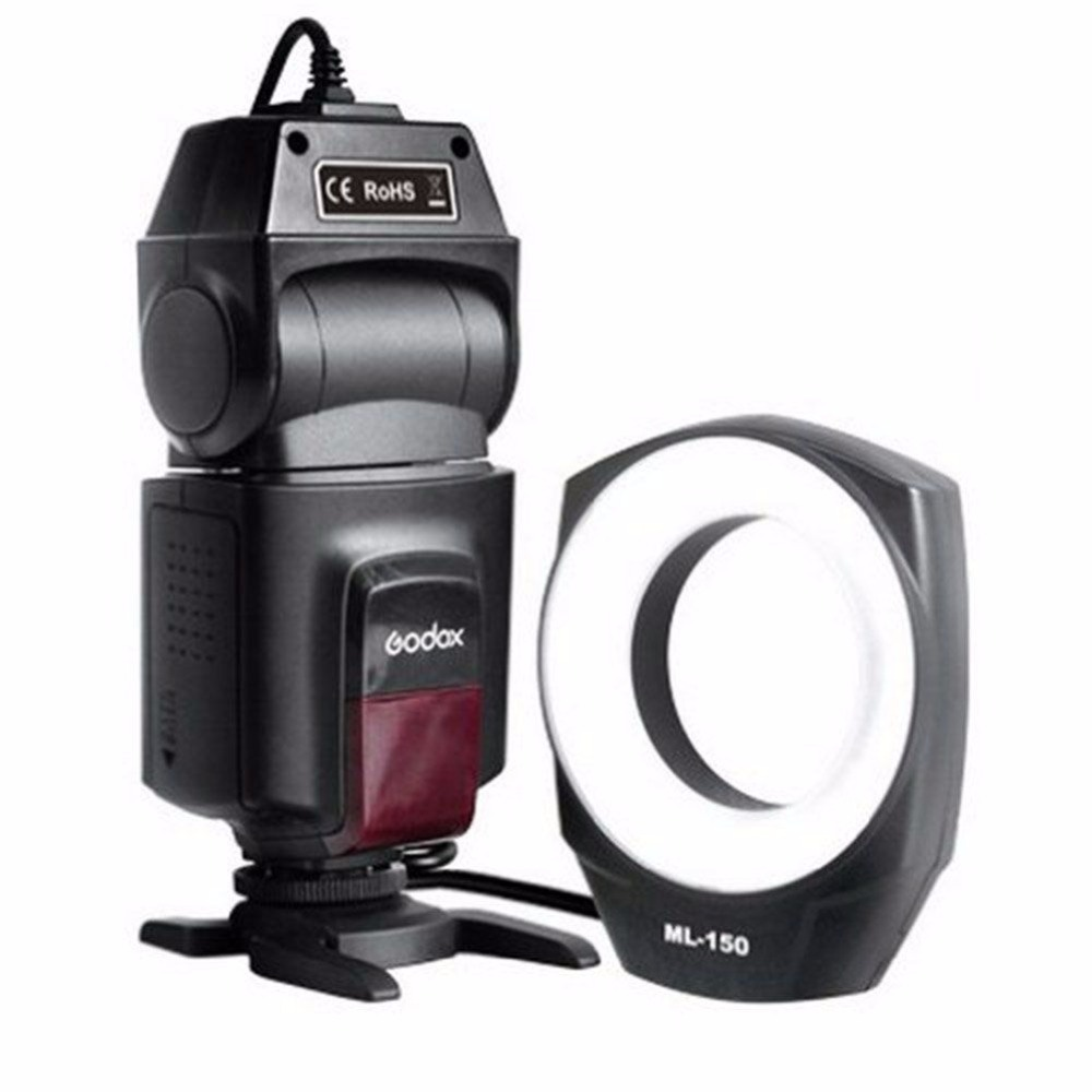 Godox ML-150 Macro Ring Flash Light Lens Adapter for Canon Nikon Pentax Olympus exclaim серебряное колье цепочка с подвеской