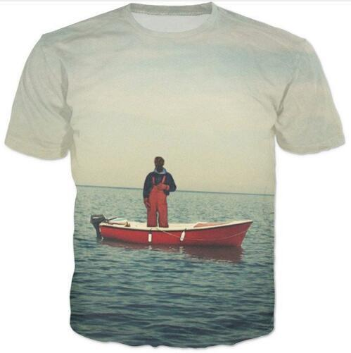 "Lil Yachty "" Lil Boat "" T-Shirt  Women Clothing t shirt Style Hip Hop Outfits Tee"