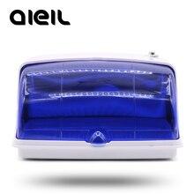 Scatola sterilizzatore UV per strumenti per unghie dispositivo di disinfezione a raggi ultravioletti antibatterici per maschera per gioielli strumenti per il trucco di occhiali per orologi