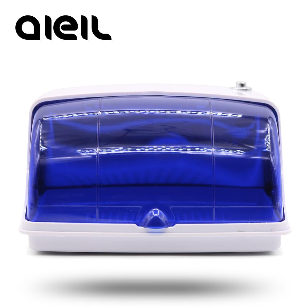 UV Sterilizatör Nail Art Çiviler Sterilizatör Manikür Makinesi UV Dezenfeksiyon Sterilizatör Kutusu Tırnak Araçları Sterilizatör AB Tak Nail Salon