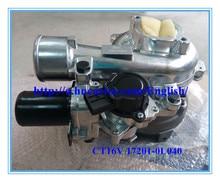 CT16V 17201-OL040 17201OL040 17201-0L040 17201-30110 Turbo For Toyota Hilux Land Cruiser 150 1KD 1KD-FTV 1KDFTV 2005- 3.0L D4D turbo repair kit rebuild ct20 17201 54060 17201 64030 for toyota hi ace hilux hi lux land cruiser landcruiser 91 2l t 2lt 2 4l