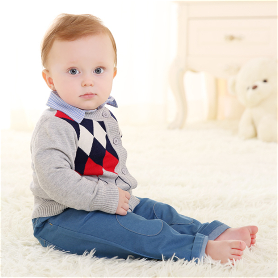 ᗐ2017 Bebé Suéter Patrones de Prendas de Punto Para Niños Muchachos ...