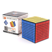 Shengshou 10x10 CUBE Black White Sticker 10x10x10 Magic Cube 10Layers Speed Cube Professional Puzzle Toy For Children Kids Gift