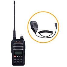 Walkie Talkie TYT TH-UVF1 Tri-Band RX 136-174/350-390/400-520MHz Dual-Band TX 136-174/400-470MHz Two Way Radio+ Speaker Mic