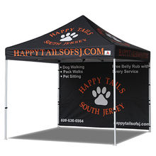 Free Shipping! Promotional Customized Sublimated Printing 1 WALL Pop-up Tent With Carrying Bag 13KGS Aluminum Frame 10 x 10 feet