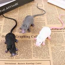 Prop Mouse-Model Miniature Home-Decoration-Ornaments Halloween Fake-Lifelike Hot 1pcs