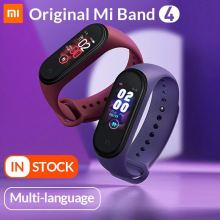 In Stock Global Version Xiaomi Mi Band 4 Smart Miband Color Screen Bracelet Heart Rate Fitness Music Bluetooth5.0 50M Waterproof-in Smart Wristbands from Consumer Electronics on Aliexpress.com | Alibaba Group