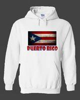 Puerto Rico Sweatshirt Hoodie Crew Neck Long Sleeve Puerto Rican Pride