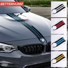Автомобильные экстерьер углеродного волокна наклейка на капот автомобиля M производительности кузова автомобиля Наклейка для укладки для BMW M3 M5 M6 E46 E90 E60 E70 F30 F10 F15 F16