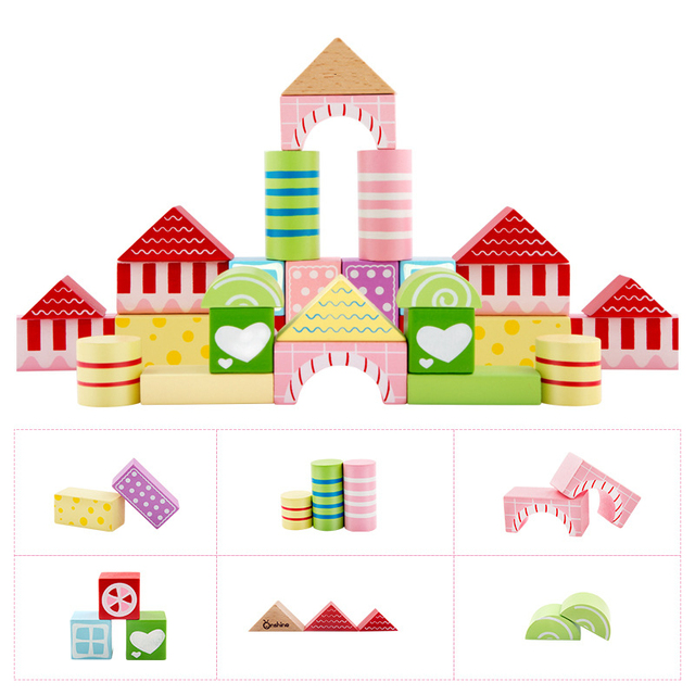 Baby Geometric Block Building