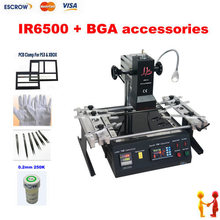 Infrared BGA Rework machine LY IR6500. IR Rework System.Infrared soldering station with BGA accessories quick 90w intelligent high frequency bga rework soldering station 203h