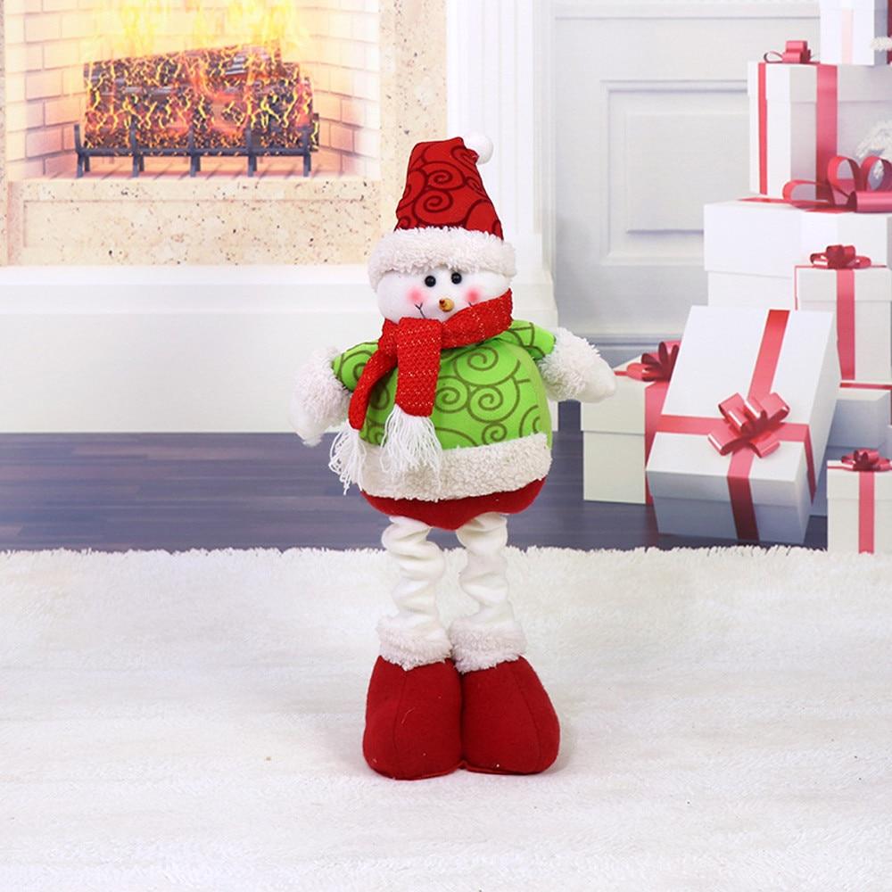 Cute santa claus towel christmas decor - 2018 Cute Christmas Decor Toy Doll Gift Home Children Kids Santa Snowman Christmas Decorations Snowman Crafts