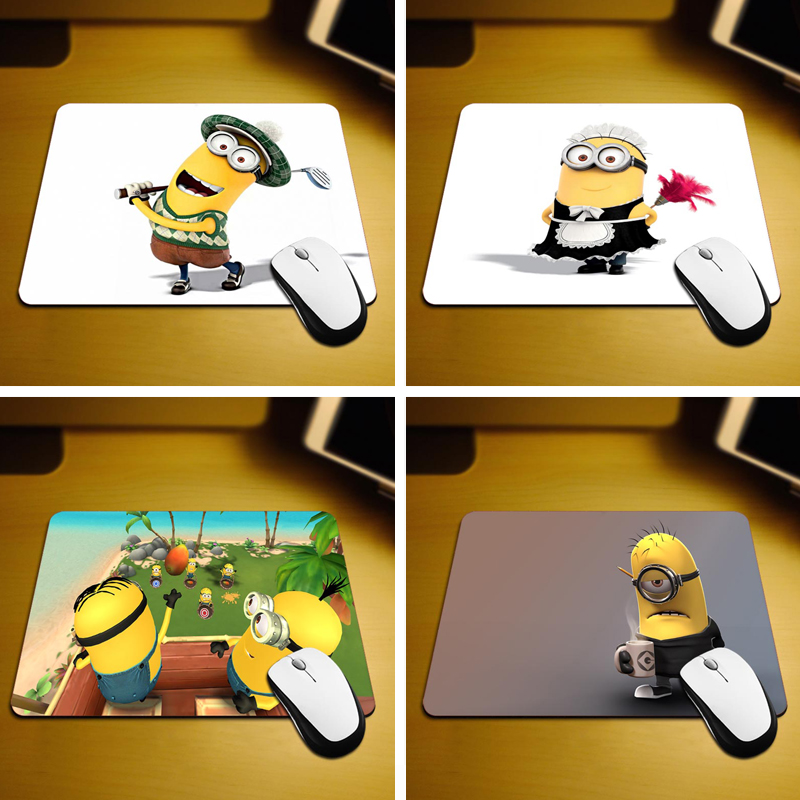 MaiYaCa New Small Size Computer desktop Minions Mouse Pad Non-Skid Rubber Pad 220mmX180mmX2mm and 250mmx290mmx2mm Mouse Pads ...