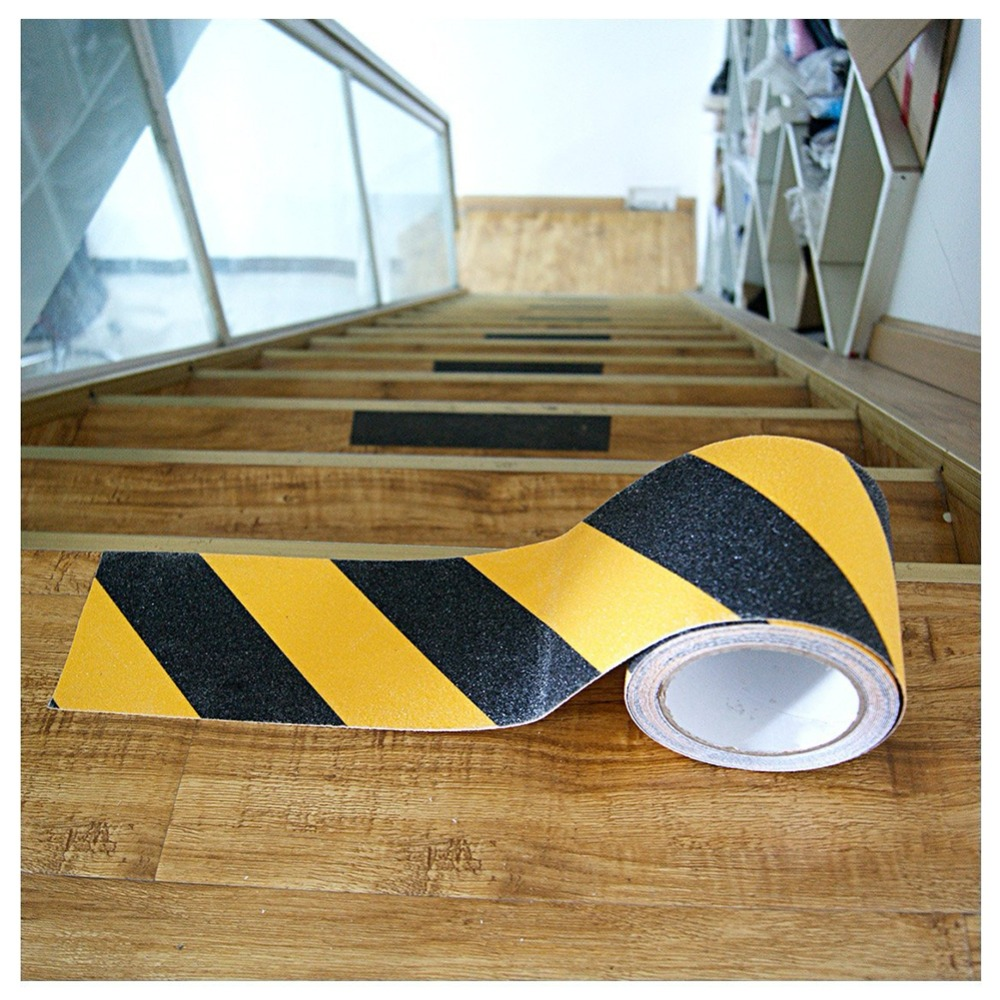 new 1pcs 5cm*5M PVC Frosted Surface Anti Slip Tape Glow in Dark Grip Traction Tape Abrasive for Stairs Tread Step Safety Tape digital playground stoya s deep sea adventures rabbit