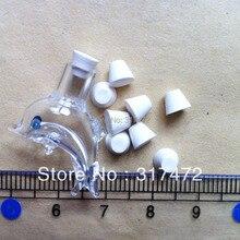 5 мм/6 мм резиновая Фиксаторы резиновая Вилки для флакона Подвески 100 шт