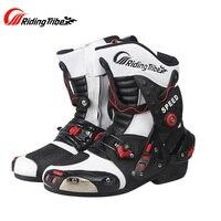 Riding Tribe Motorcycle Boots Shoes Motocross Botas Moto Motoqueiro Motocicleta Botte Botas Para Moto Racing Men's Riding Shoes