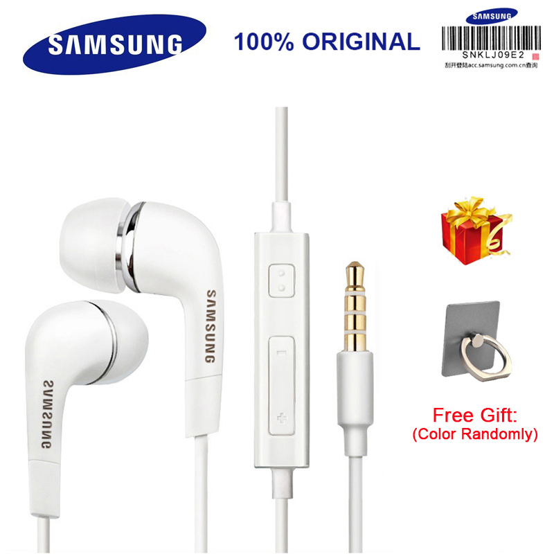 SAMSUNG Genuine EHS64 Earphone With 3.5mm Plug Send a gift 1.2m wire In-ear Headset Support Samsung Galaxy S8 S8 Plus S9 S9 plus