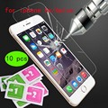 10piece/lot Premium Tempered Glass Screen Protector for iPhone 6 6S plus Toughened protective film For iPhone 6plus 5.5 inch