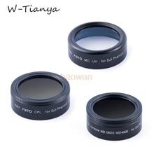 Wtianya cpl + mcuv + ND2-ND400 Фильтра Объектива Protector для DJI phantom 4 pro/advance камеры