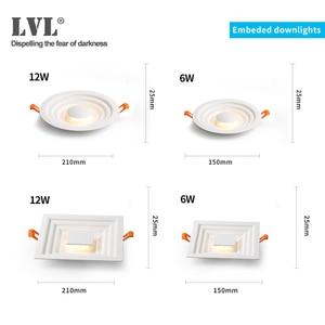 Image 2 - Surface Mounted LED Downlight for Living room, Bedroom, Kitchen, Corridor, Bathroom, AC 85v 265v Anti dazzle Recessed Spot light