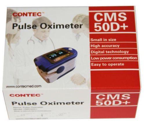 CONTEC CMS50D+ CMS 50D Plus USB Software Fingertip Pulse Oximeter Oximetro De Dedo De Pulso 3