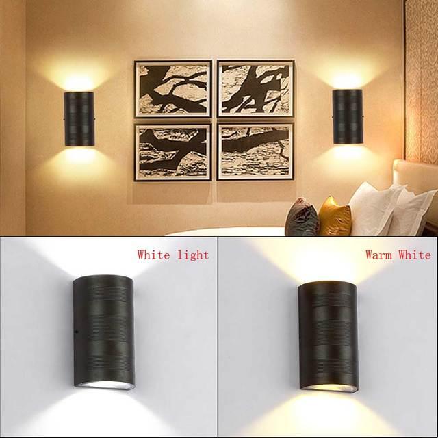 Marke Neue Gang 6 Watt LED Aluminium Wasserdichte Esszimmer Licht Nacht  Korridor Wandleuchte Flur Treppe Indoor