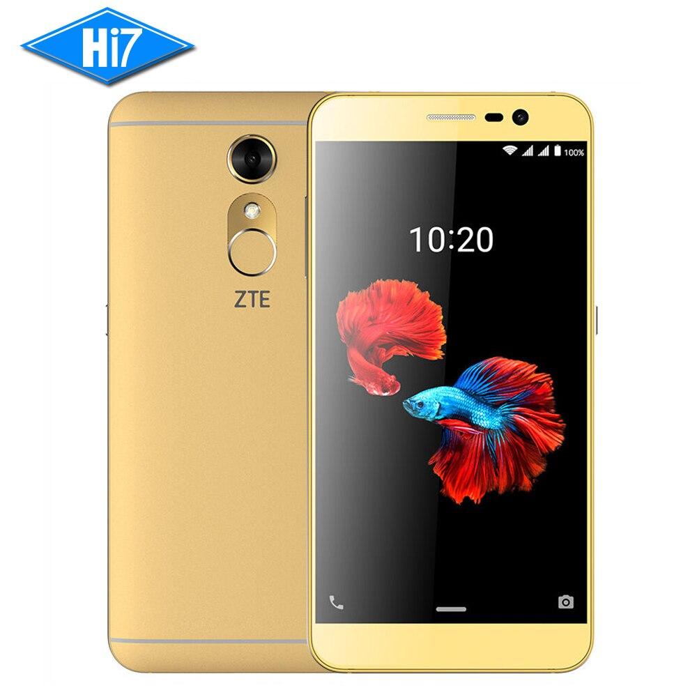 "ZTE Blade BA910 A910 Quad-core 3GB+32GB 5.5"" 4G LTE Fingerprint Dual SIM card NFC Flyme OS(Android) 2540mAh"