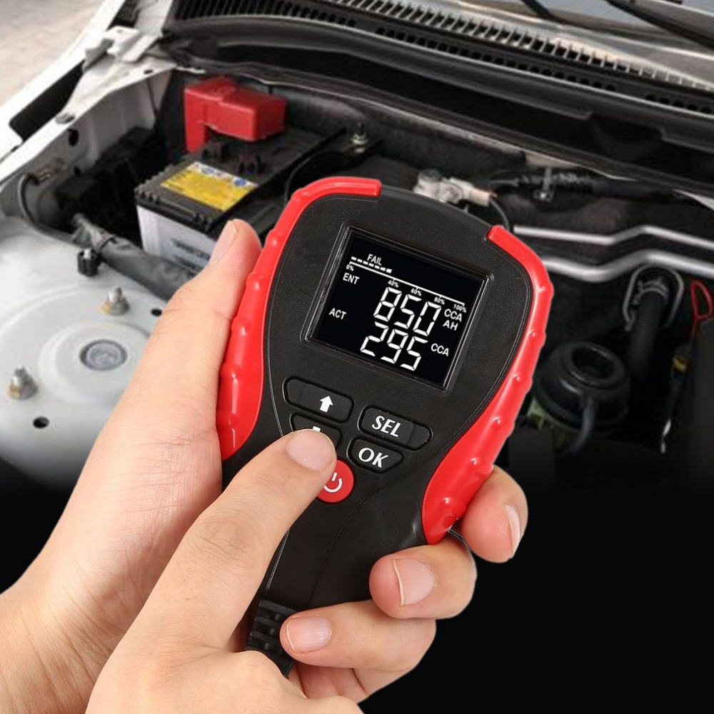 Automotive Load Battery Tester Digital Analyzer Car Vehicle Cell Test Diagnostic Tool Capacity Voltage Voltmeter Auto SystemAutomotive Load Battery Tester Digital Analyzer Car Vehicle Cell Test Diagnostic Tool Capacity Voltage Voltmeter Auto System
