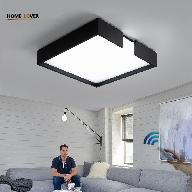 все цены на Living room ceiling lamp for indoor home lighting bedroom Kitchen light fixture dimer luminarias led ceiling led lights for home онлайн