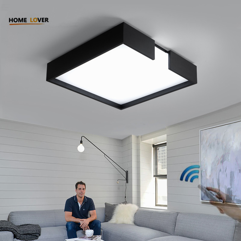 Living room ceiling lamp for indoor home lighting bedroom Kitchen light fixture dimer luminarias led ceiling led lights for home