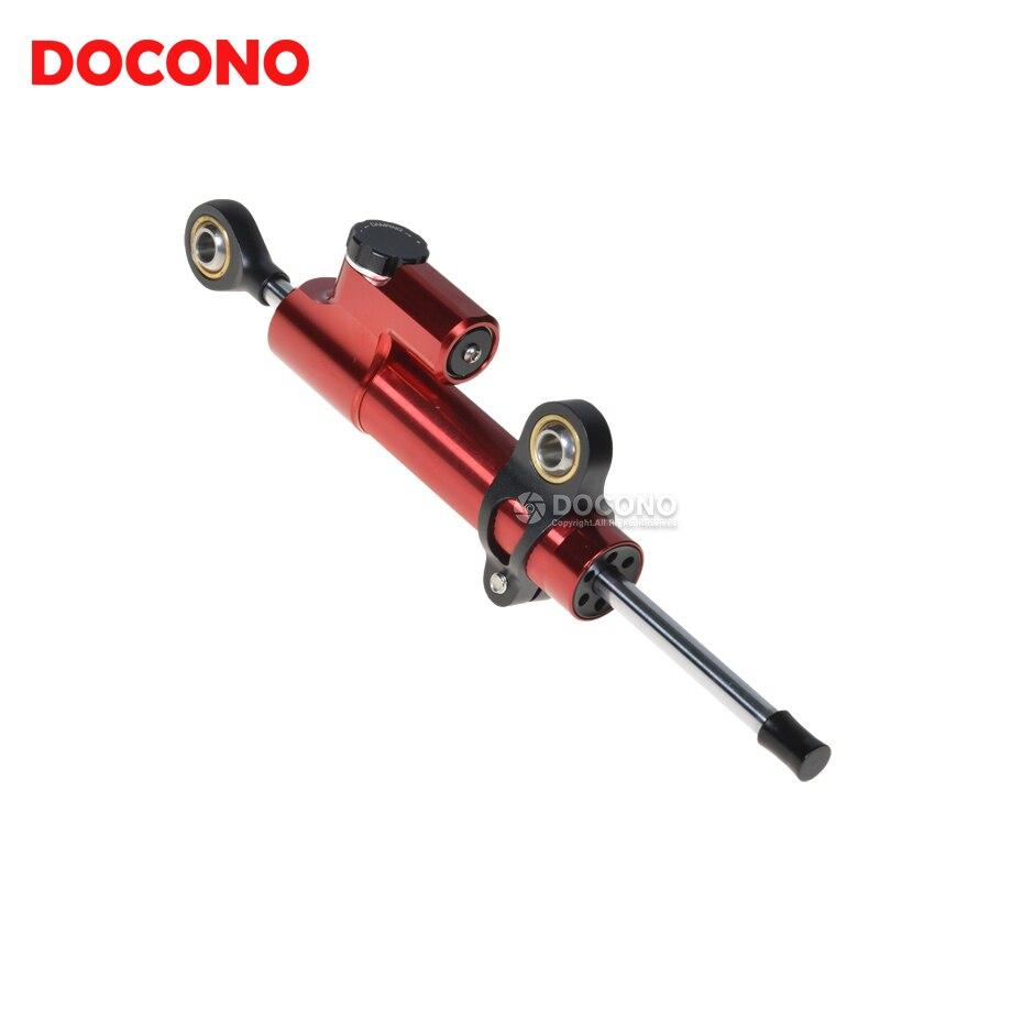 Motorcycle Universal CNC Aluminum Stabilizer Damper For honda CBR125R CBR1000RR CRF VFR800F suzuki gsr 600 bandit gsxr