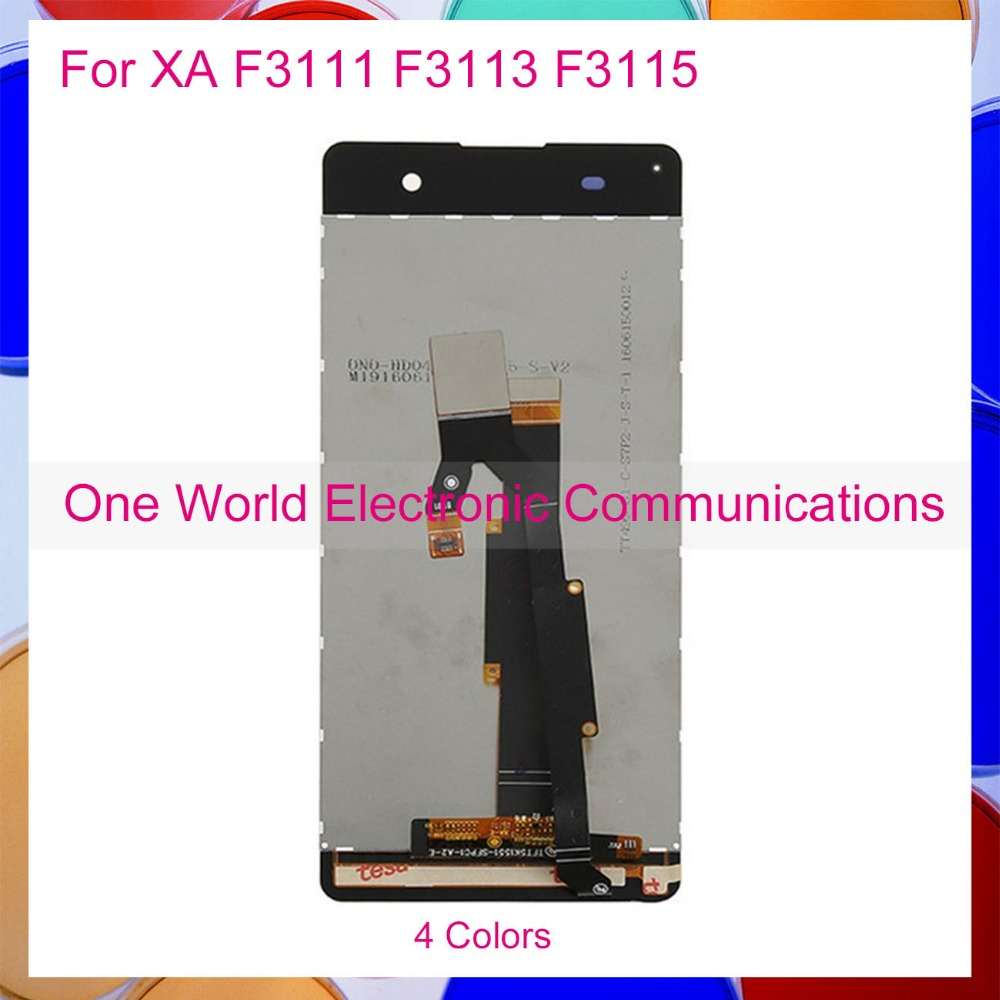 One World 6.0 For Sony Xperia XA F3111 F3113 F3115 Phone Full LCD Screen Display Digitizer With Touch Screen Complete Assembly