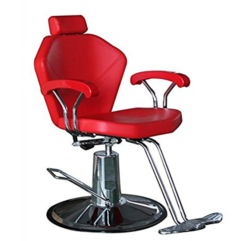Hydraulic reclining barber chair salon cape shampoo beauty for Hydraulic chairs beauty salon