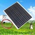 Portable viajes eficiencia de energía del panel solar de diy cargador de batería usb 12 v 20 w para el banco de potencia supply inicio viaje para los teléfonos