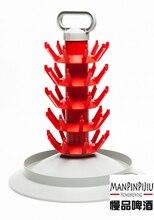 New arrived 45 -Bottle Tree Drainer & Drying Rack For Beer & Wine Bottles homebrew