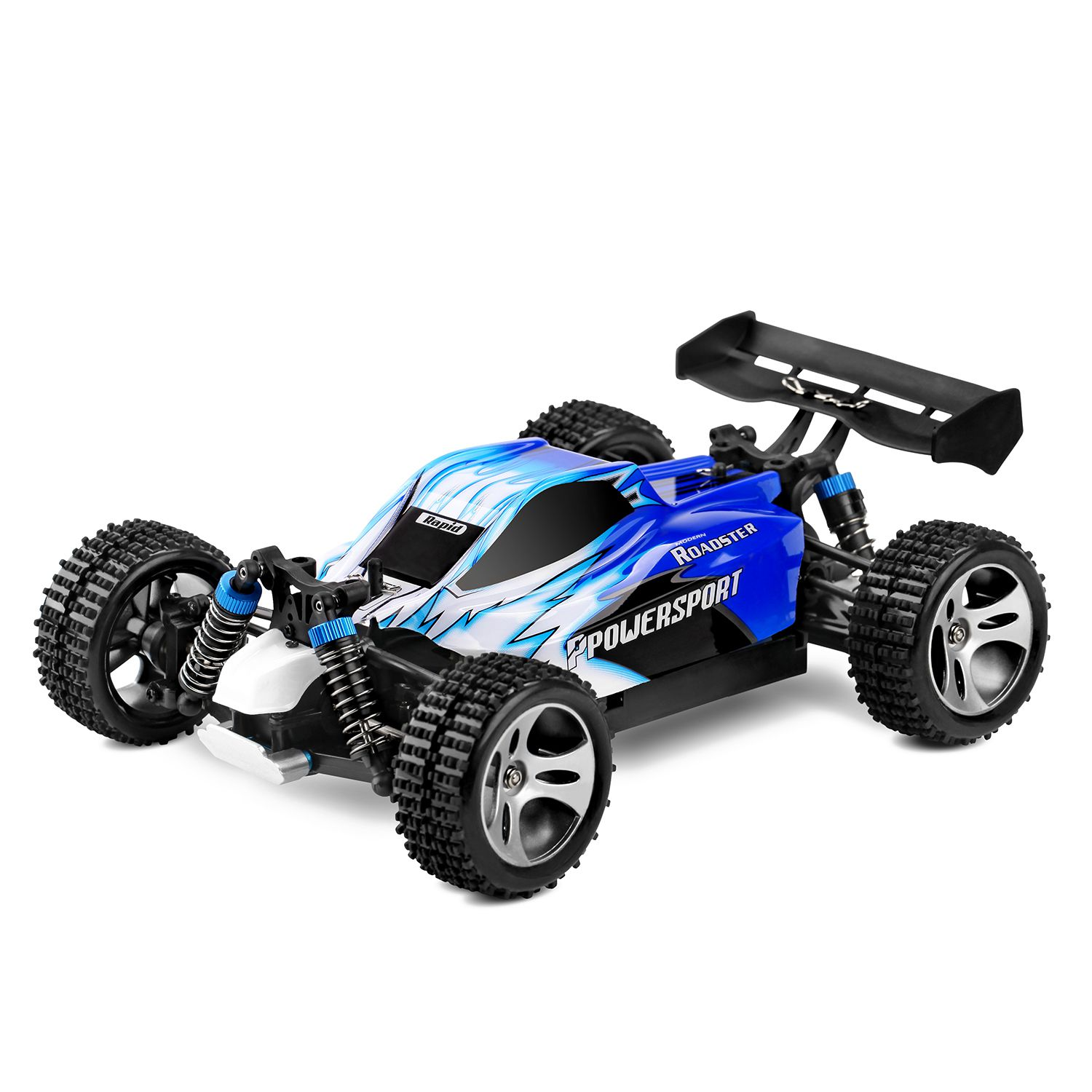 Wltoys A959 1/18 1: 18 Scale 2.4G 4WD RTR Off-Road Buggy RC Car for Gift Toys, EU Plug hongnor ofna x3e rtr 1 8 scale rc dune buggy cars electric off road w tenshock motor free shipping