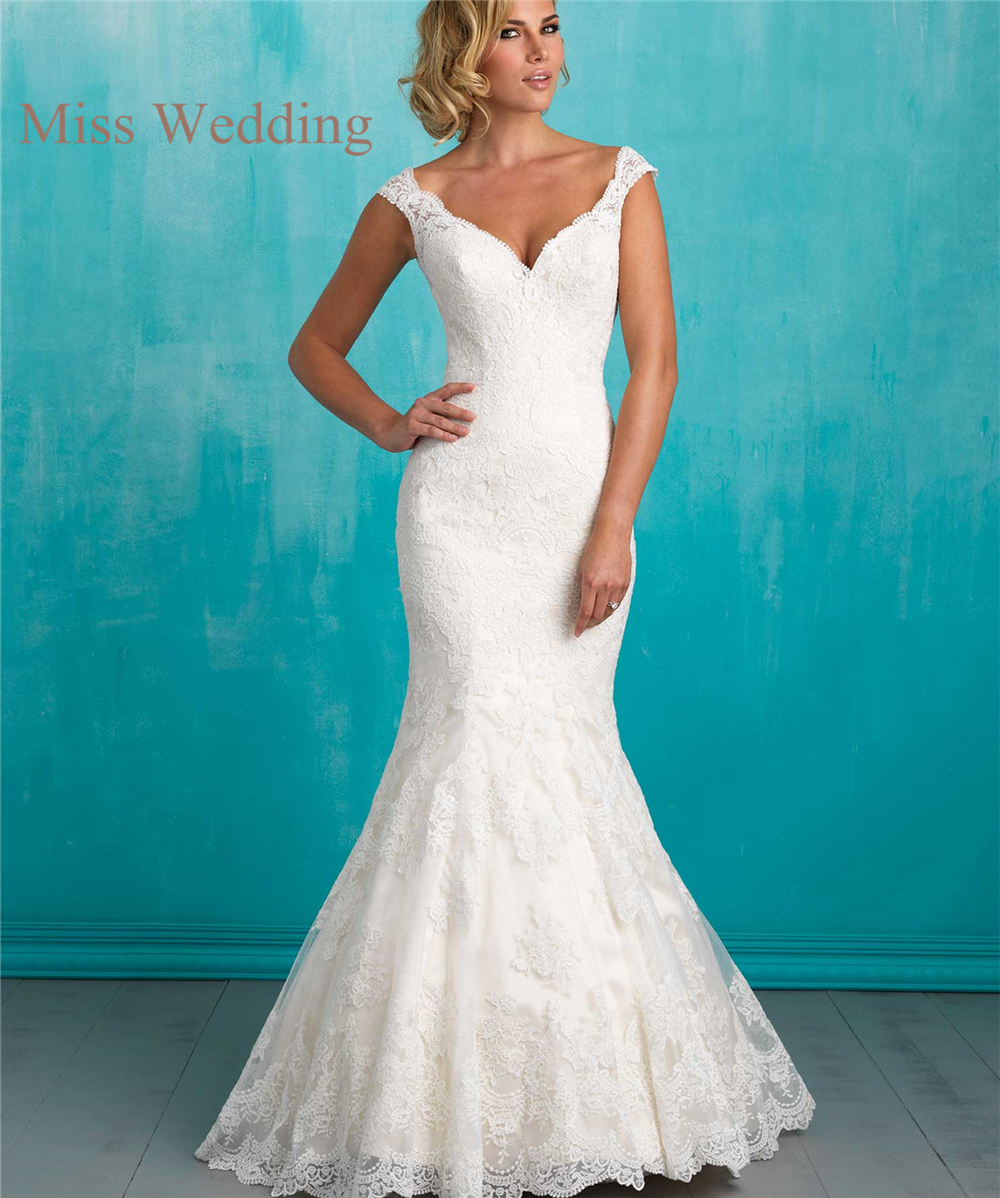 Perfect Mermaid Style Wedding Dresses With Sleeves Mold - All ...