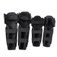 4PCS Motorbike Racing Motorcycle Protector Motocross Bike Atv Knee Elbows Pads Guards Set Protective Gear