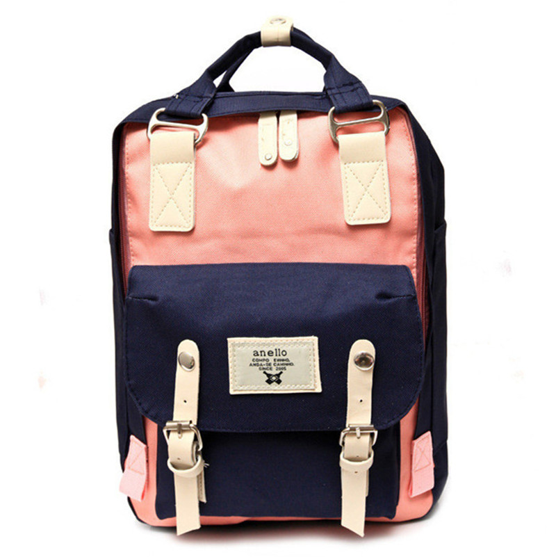 New 2018 Women Casual Canvas Backpack Candy Color Travel Backpack School Bags For Teenagers Girls Shoulder Bag mochila feminin 2017 new women leather backpacks students school bags for girls teenagers travel rucksack mochila candy color small shoulder bag