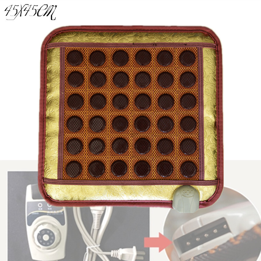 2017 Good quality Free shipping cheap Natural Jade cushion electric heating pad 45*45CM