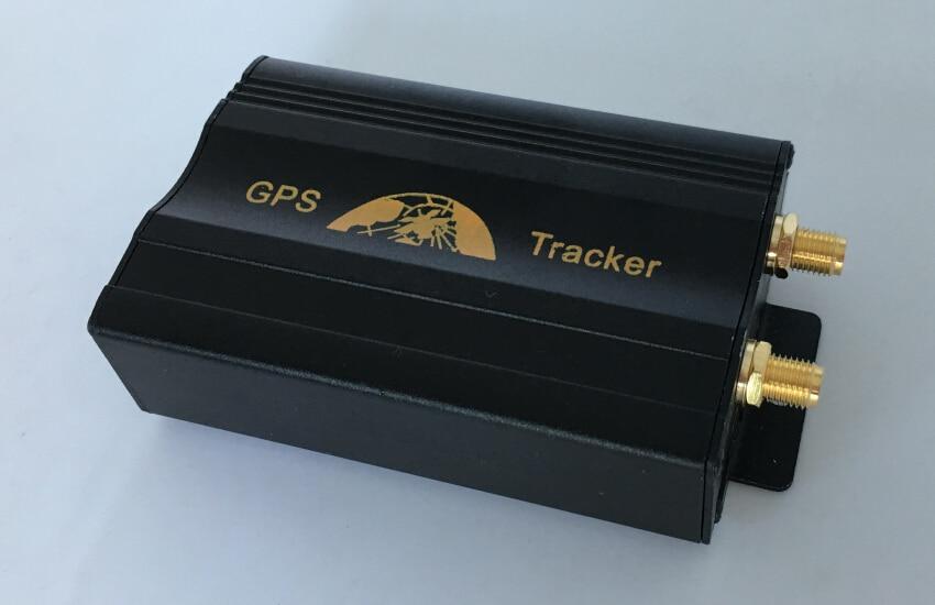 Quad Band Vehicle Gsm Gps Tracker Gps103a Free Realtime Pc