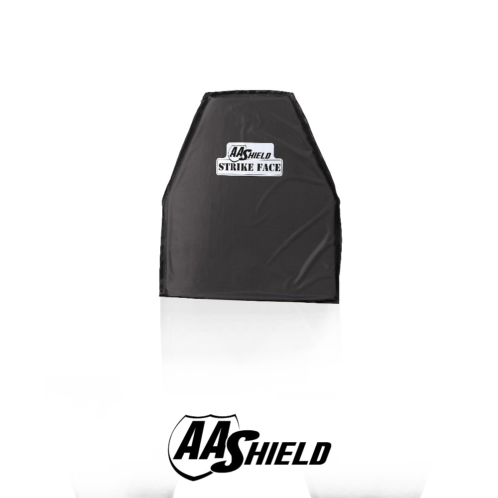 AA Shield Bullet Proof & Stab Proof Soft Armor Plate Aramid Core NIJ Lvl IIIA Stab Resistand Plate Level II 10x12#3 Swimmer Cut aa shield bullet proof soft panel body armor inserts plate aramid core self defense supply nij lvl iiia 3a 8x10